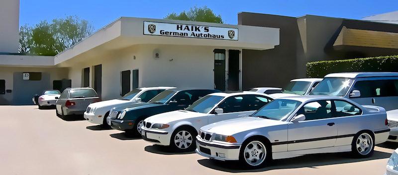 Haik's German Autohaus - Mercedes Repair - BMW Repair