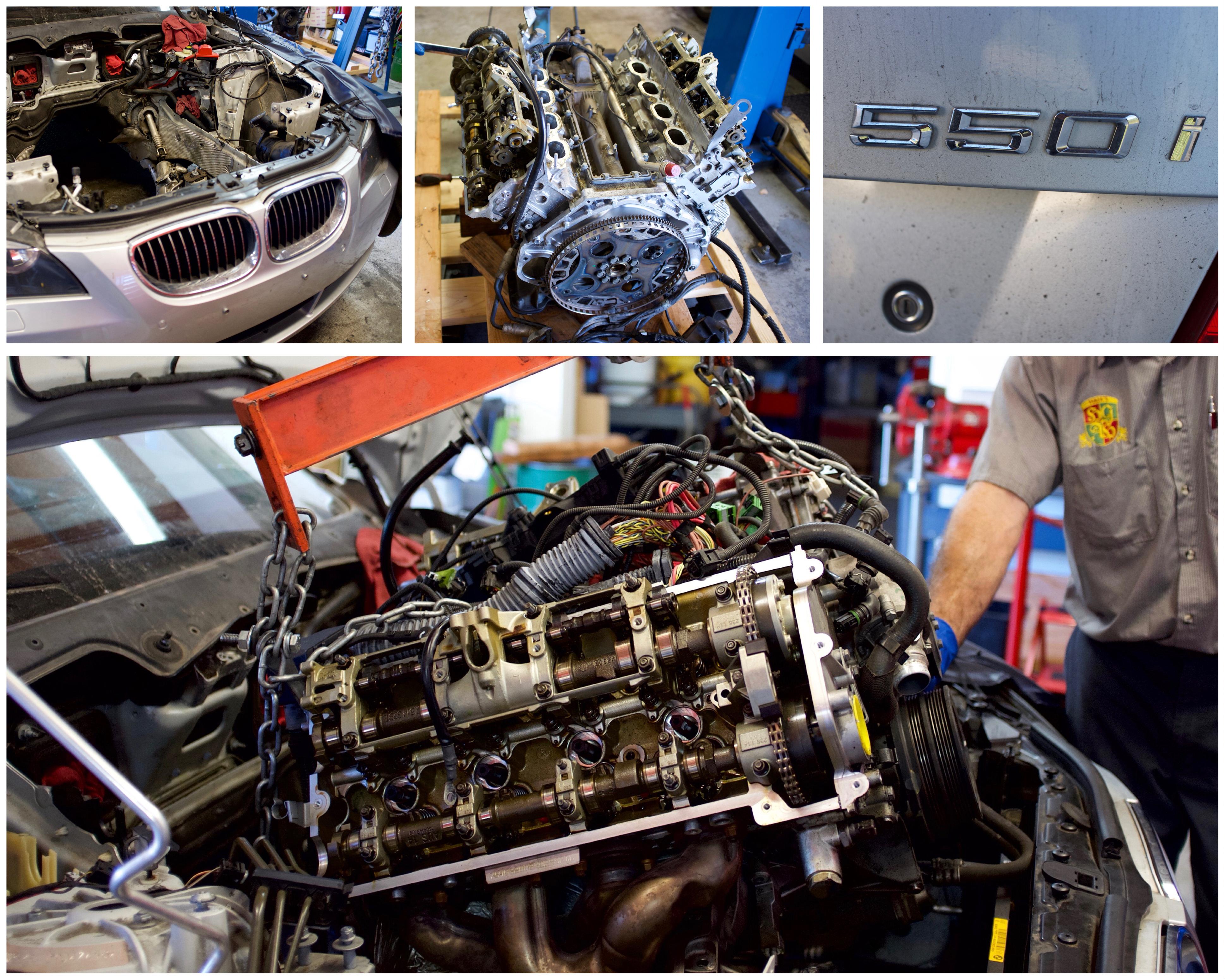 Bmw Repair Service Santa Barbara Haiks German Autohaus Auto Mechanic Engine Brakes Removal Of At